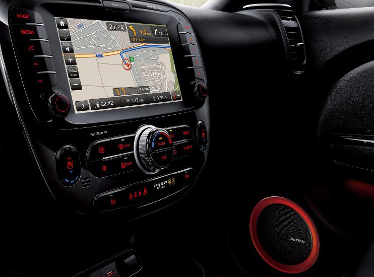Kia Soul – GPS navigace – 7 letá aktualizace mapových podkladů zdarma