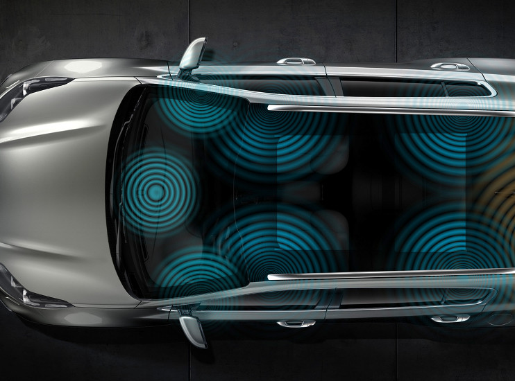 Kia Sportage - prémiové ozvučení JBL - 8 resproduktorů