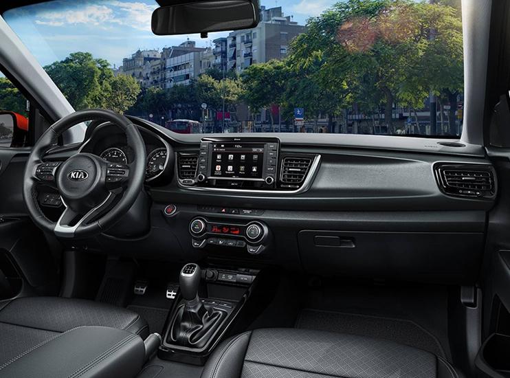 Kia Rio YB – Nový design, konektivita, chytré funkce. Dotykový display se zadní parkovací kamerou.
