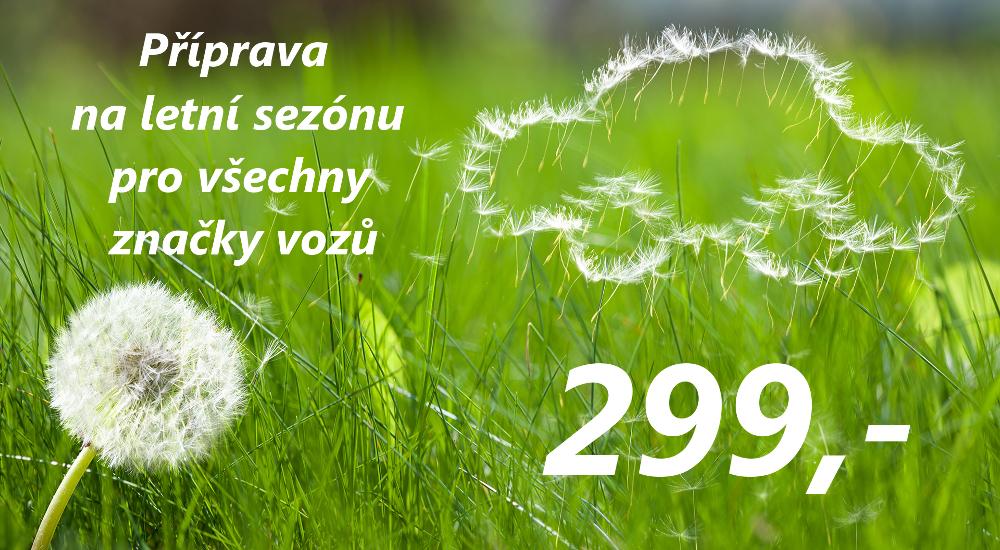 servis vozů všech značek Praha-Západ - jarní příprava vozu