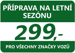 autoservis Kia Praha Západ - příprava vozu na letní sezónu