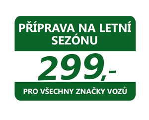 příprava vozu na letní sezónu Praha-Západ