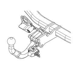 Montáž tažného zařízení