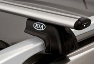střešní příčníky pro dva modely Kia Sorento (XM) nebo Kia cee'd SW (ED)