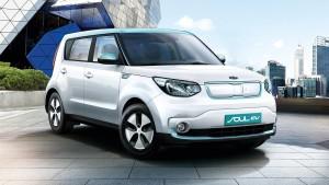Kia Soul EV - elektromobil - prodej a servis vozů Kia Praha