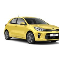 Kia Rio YB – Most Yellow