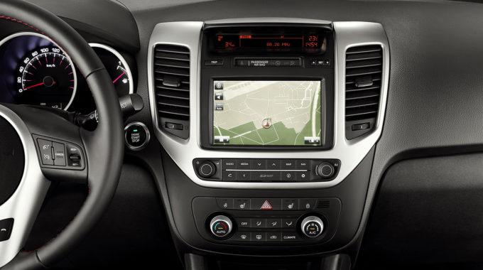 Kia Venga (YN) – GPS navigační systém s parkovací zadní kamerou