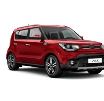 Kia Soul – Inferno Red