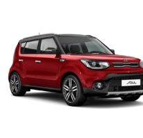 Kia Soul – Inferno Red + Cherry Black