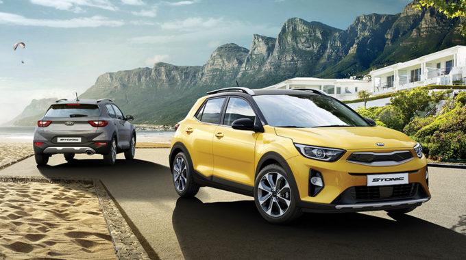 Ve všech verzích výbavy model Kua Stonic nabízí integrované střešní ližiny v ceně vozidla.