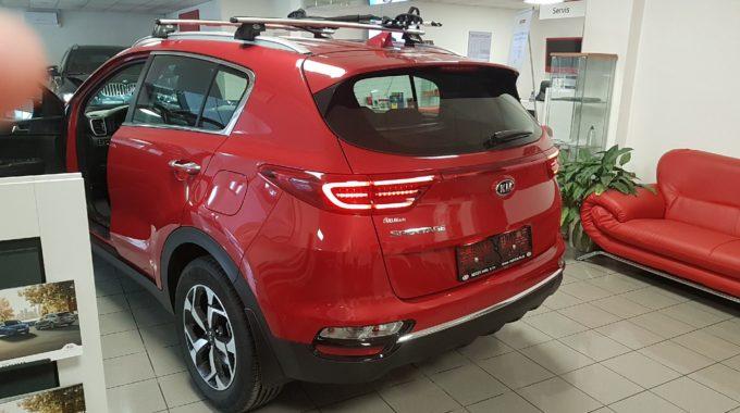 Kia Sportage 1,6 T-GDI GPF 4X4 7DCT STYLE – zadní svítilny s technologií LED